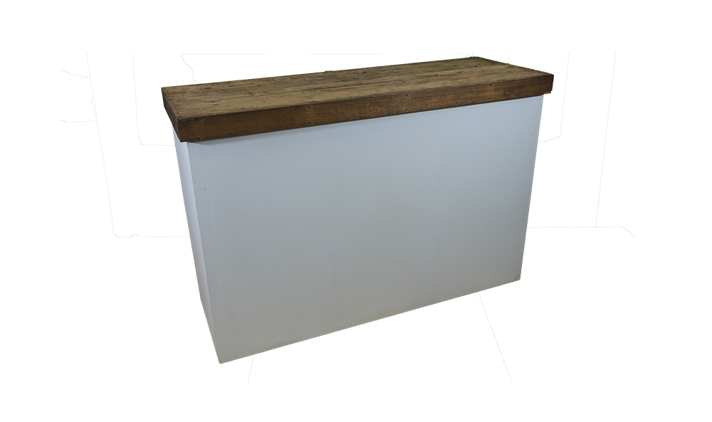 wood top bar