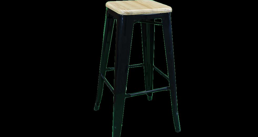 Black-Timber-Seat-Bar-Stool