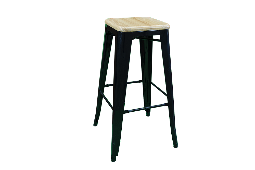 Black-Timber-Seat-Bar-Stool