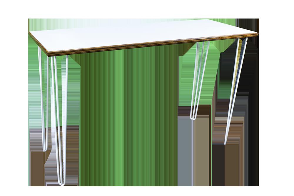 White-Hairpin-Bar-Bench