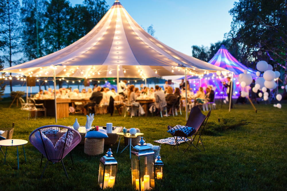 christmas marquee hire